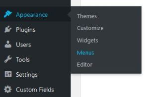 How do you change your menu navigation in WordPress? | WP